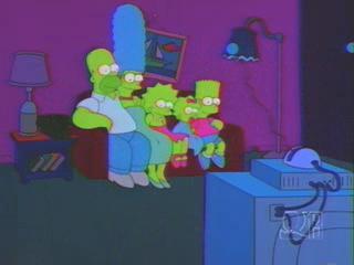 Симпсоны в темных цветах