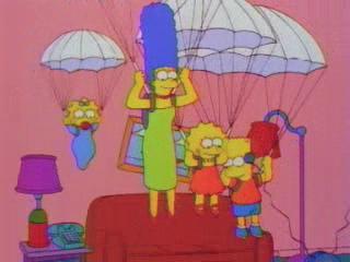 Симпсоны на парашютах