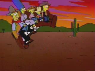 Симпсоны ковбои