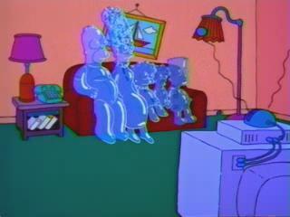 Симпсоны мыльные пузыри