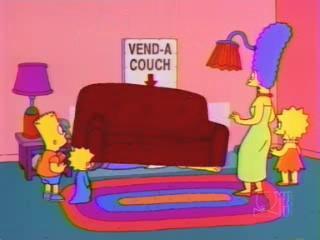 Диван упал на Гомера