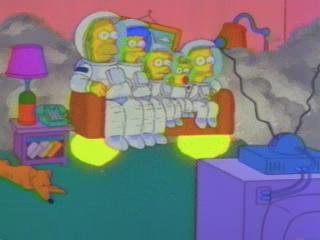 Симпсоны космонавты