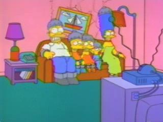 Симпсоны на электрическом стуле