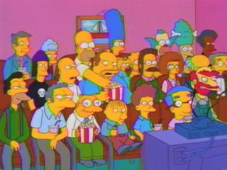 Гости у Симпсонов