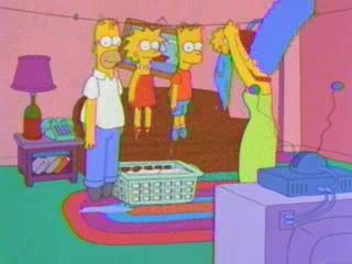 Симпсоны сушатся