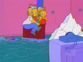 Симпсоны пародия на Титаник