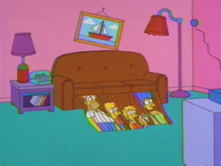 Симпсоны разрезаны на полоски