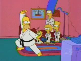 Симпсоны карате