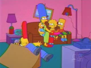Симпсоны на скетборде