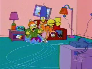 Симпсоны на коньках