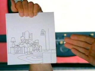 Нарисованные Симпсоны