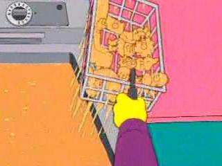 Симпсоны во фритюрнице