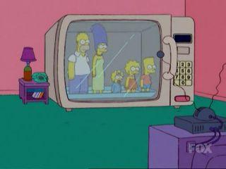 Симпсоны в микроволновке