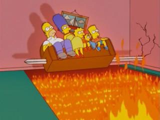 Симпсоны в огне