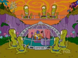 Инопланетяне и Симпсоны