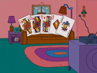 Карты Симпсоны