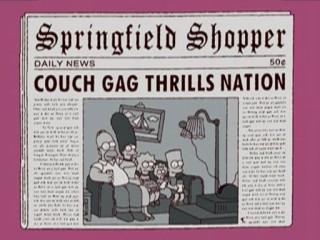 Симпсоны в газете
