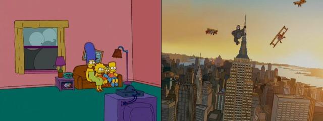 Симпсоны Кинг-Конг