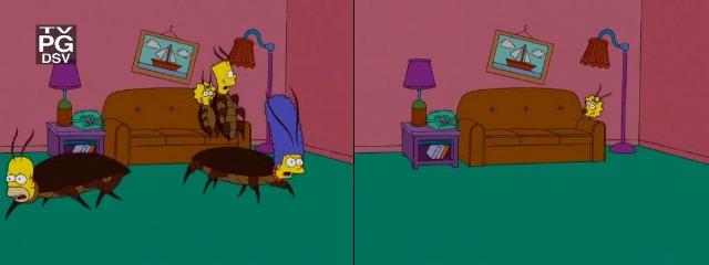 Симпсоны тараканы