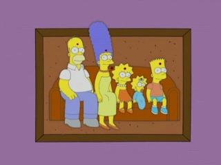 Картина Симпсоны