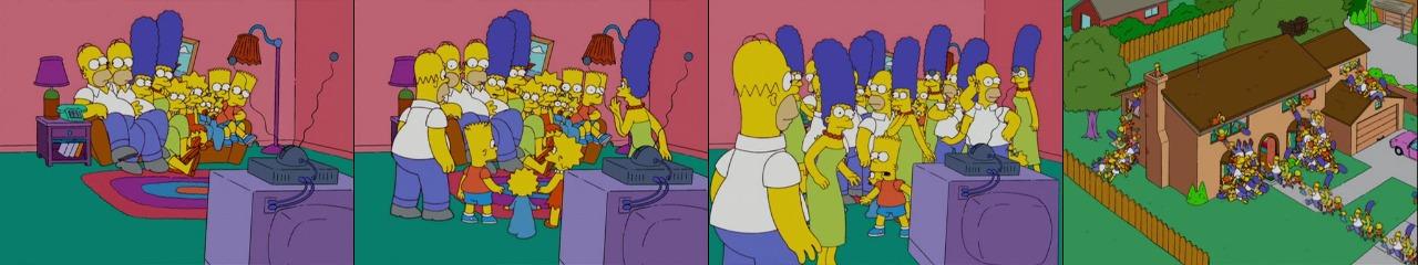 Клонирование Симпсонов