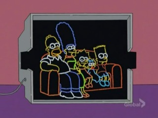 Светодиодные Симпсоны