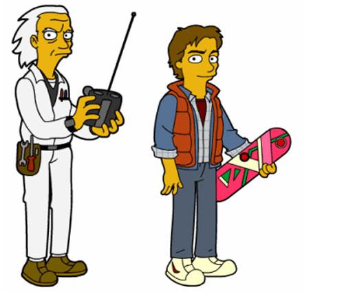 Док Браун и Марти Макфлай