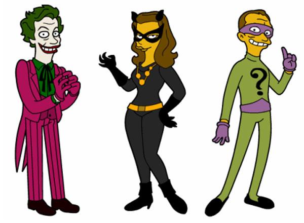 Джокер и Человек Загадка