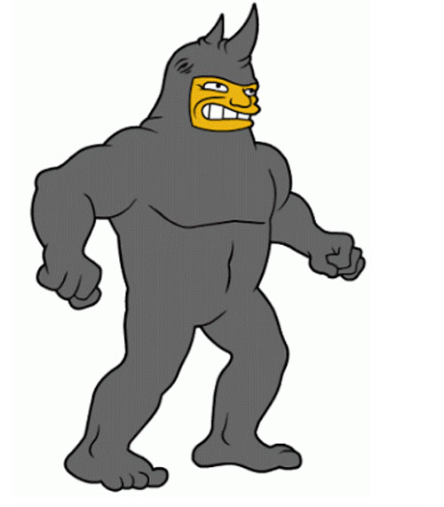 Человек-носорог