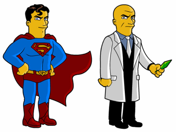 Супермен и Лекс Лютор