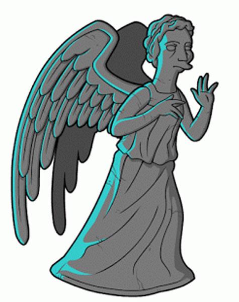 Плачущий Ангел из Доктора Кто