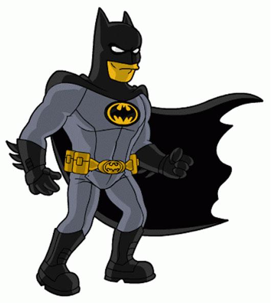 Робин в костюме Бэтмена