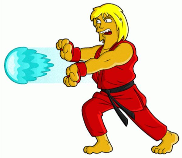 Уличный боец Кен