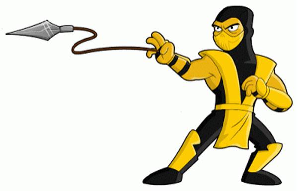 Боец Скорпион