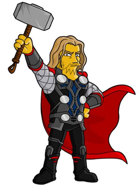 Скандинавский бог Тор