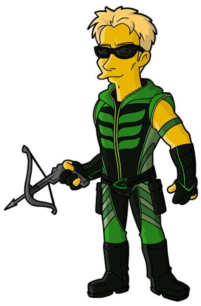 Герой комиксов Зеленая стрела