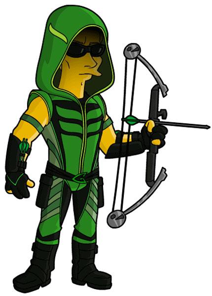 Зеленая стрела с арбалетом