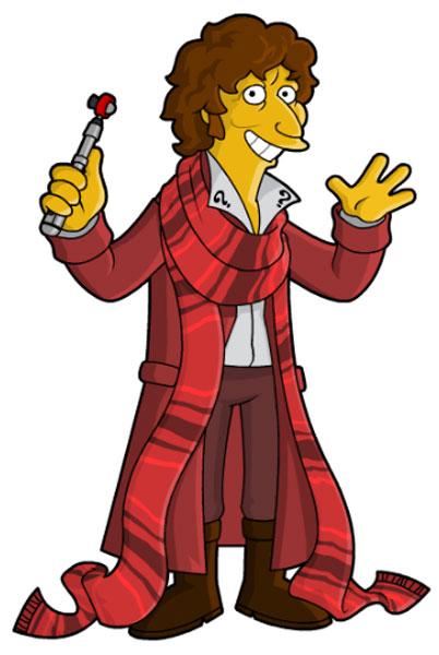 Доктор Кто в красном