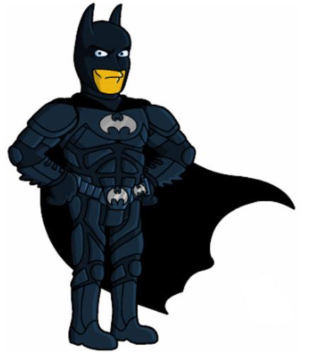 Супергерой Бэтмен