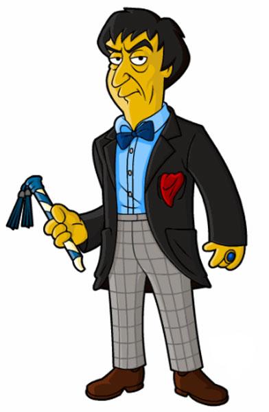 Патрик Тротон в роли Доктора