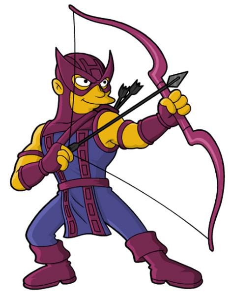 Супергерой из Мстителей