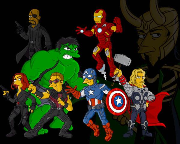 Обои Халк и Мстители