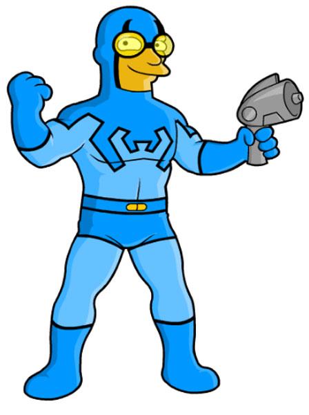 Супергерой комиксов Синий Жук
