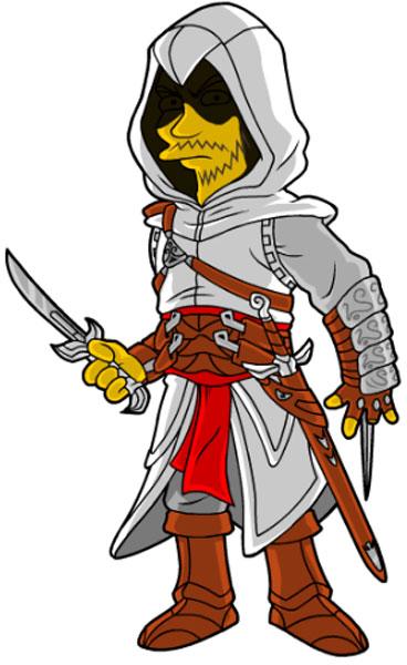 Альтаир из Кредо Убийцы