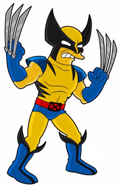 Супергерой Росомаха