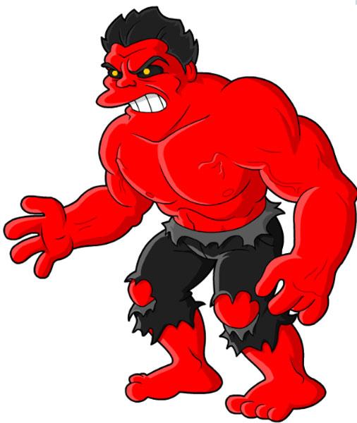 Красный Халк