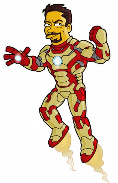 Бронированный костюм Железного Человека