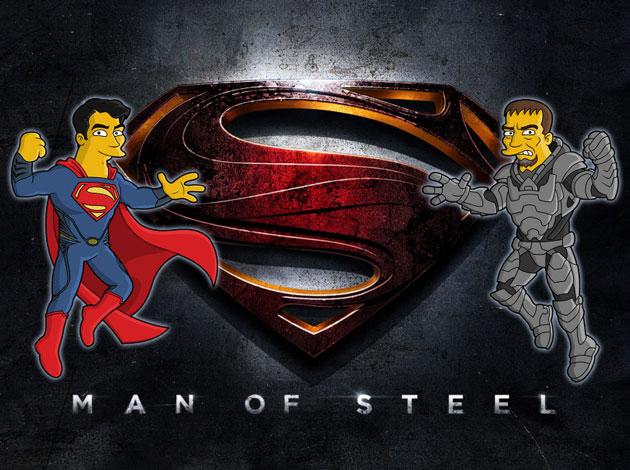 Обои Супермен