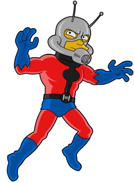 Супергерой Человек-муравей
