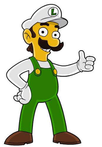 Луиджи из Супер Марио